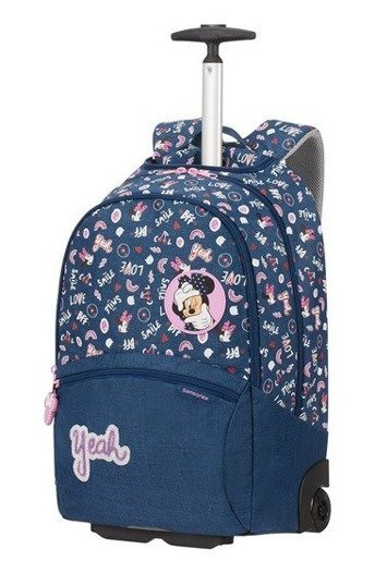 Plecak na kółkach Samsonite Color Funtime Disney Minnie Doodles