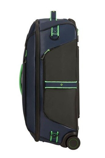 Torba na kółkach Samsonite Paradiver Light 67 cm Night Blue/Fluo Gren